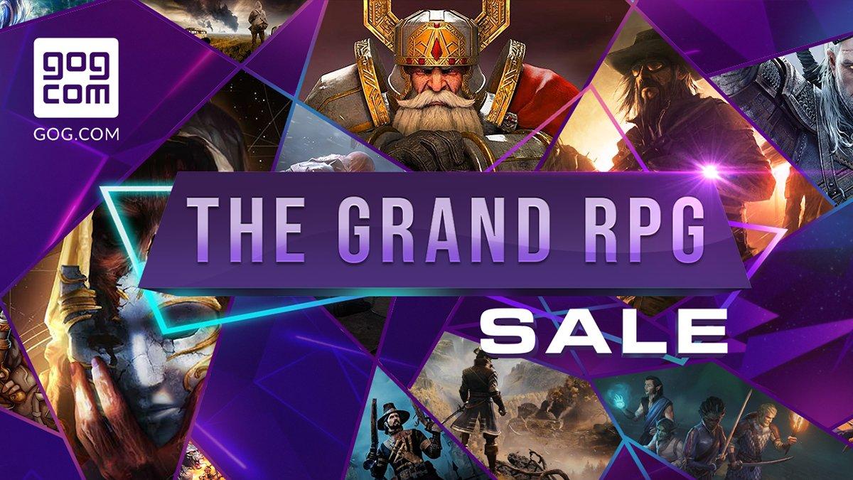 GOG平台开启大型RPG特卖活动