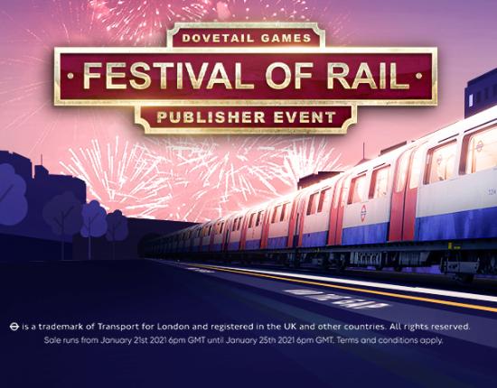 Steam发行商周末  铁路狂欢!1月26日截止