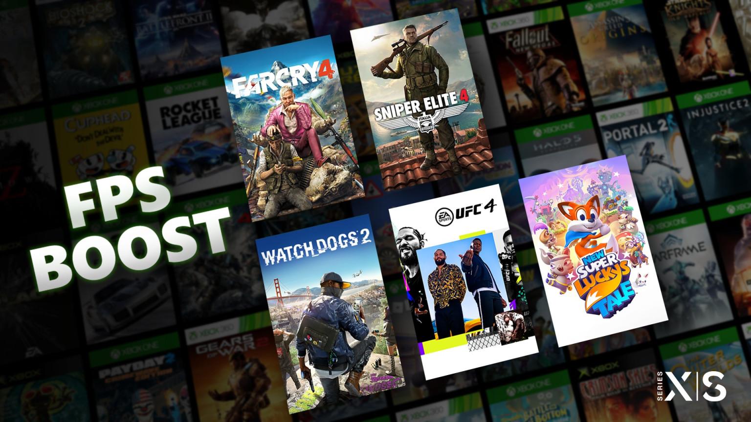 微软公布为 XSX/S 系统增加了帧数翻倍模式 FPS Boost